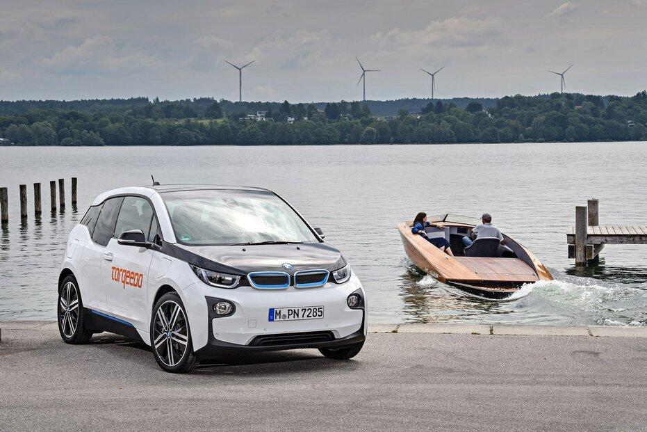 Baterii z BMW i3 používá třeba člun. Využít ji můžete i v domácnosti