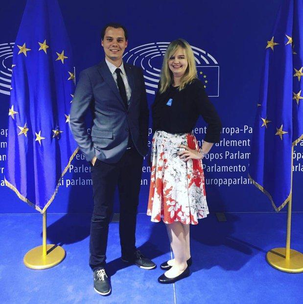 Mladé ANO: Návštěva Evropského parlamentu