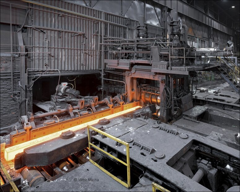 Bloková stolice v Třineckých železárnách
