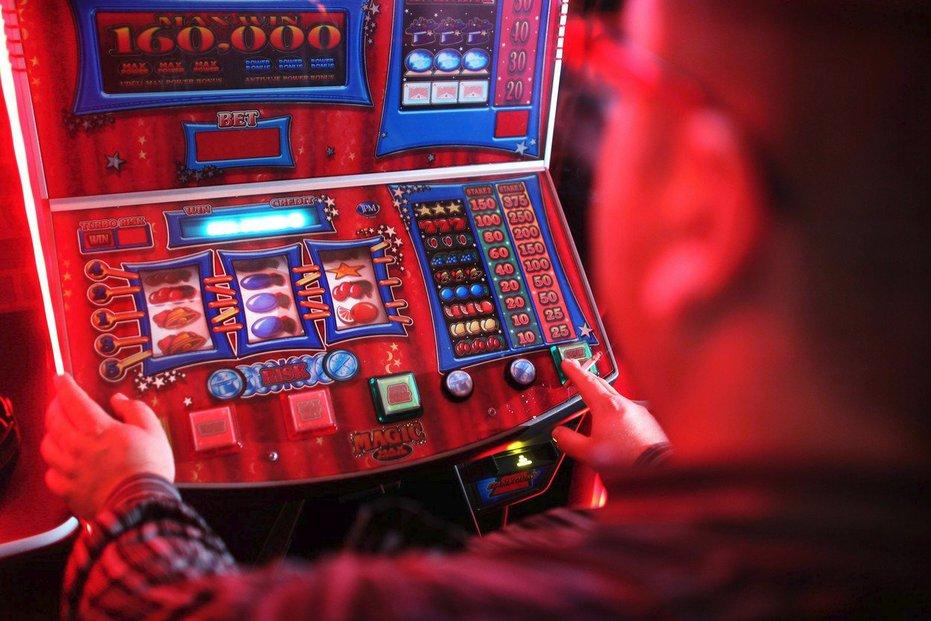 Herní automaty, ilustrační foto