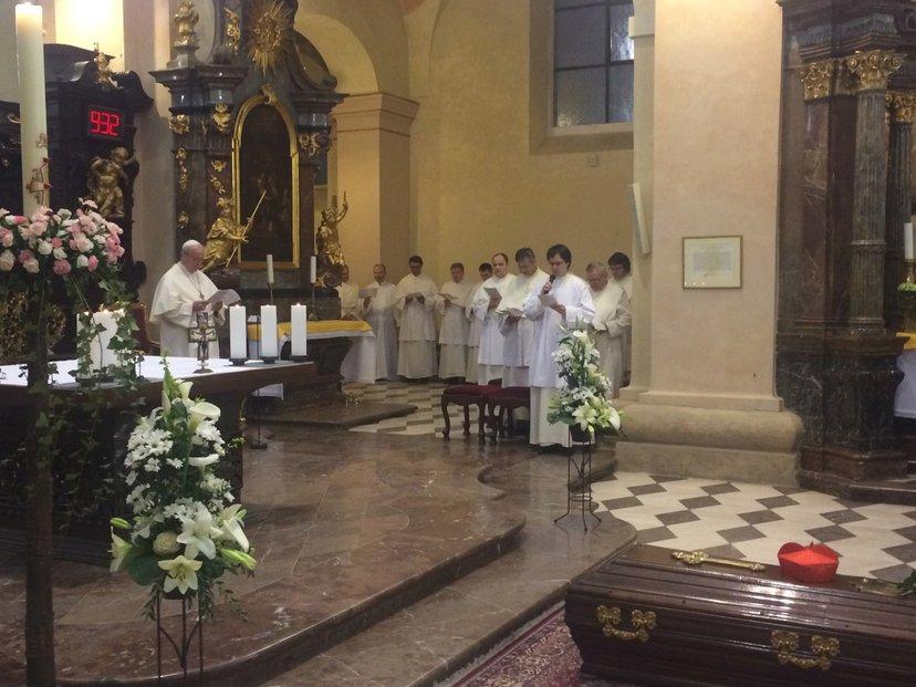 Ostatky kardinála Berana jsou v Praze