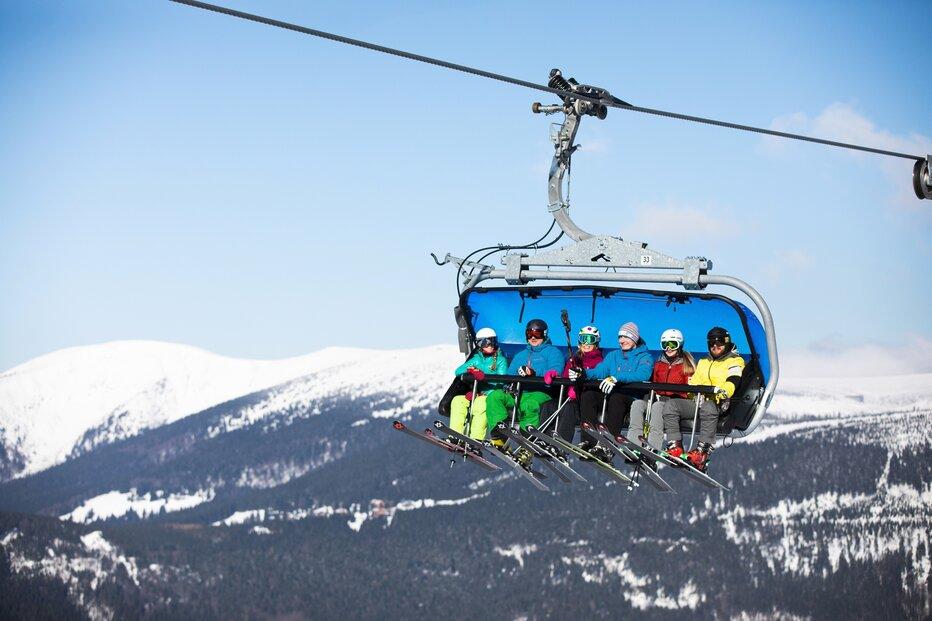 Zimní horská idylka tak, jak byla v této zimní sezoně k vidění jen velmi krátce.