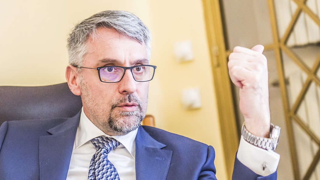 Ministr obrany Lubomír Metnar (ANO)