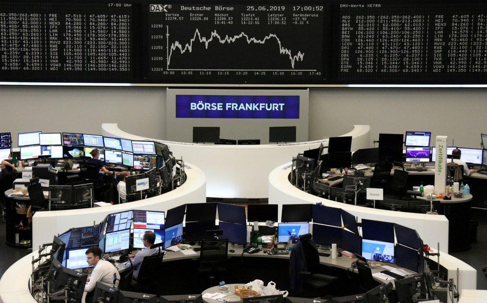 Obchodování na burze ve Frankfurtu