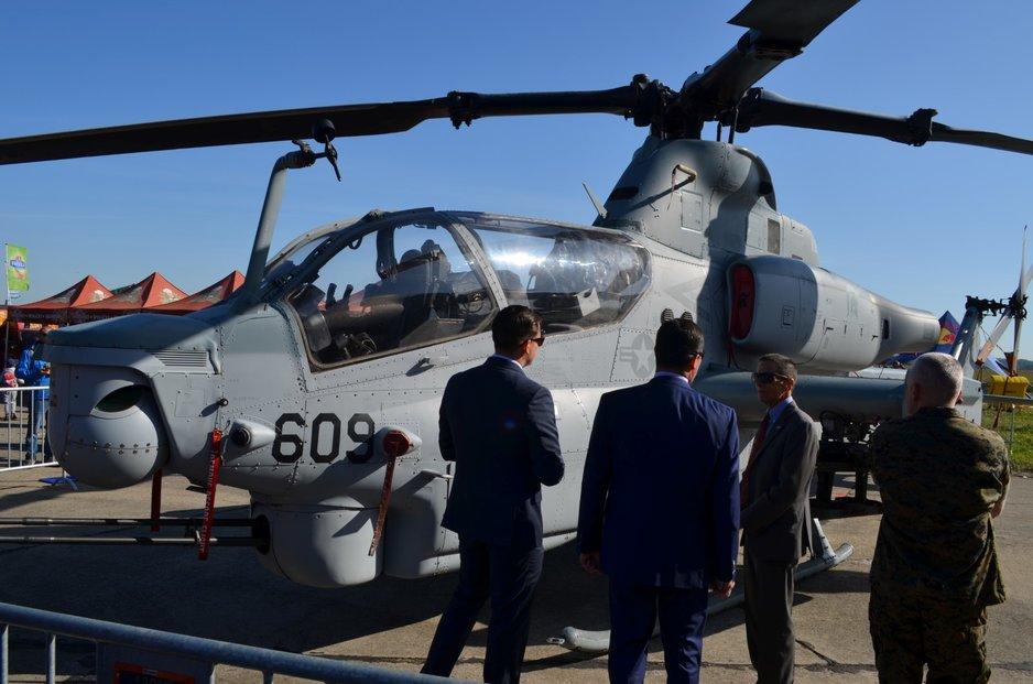 Vrtulník Bell AH-1Z Viper se má stát výzbrojí i české armády (21. 9. 2019)