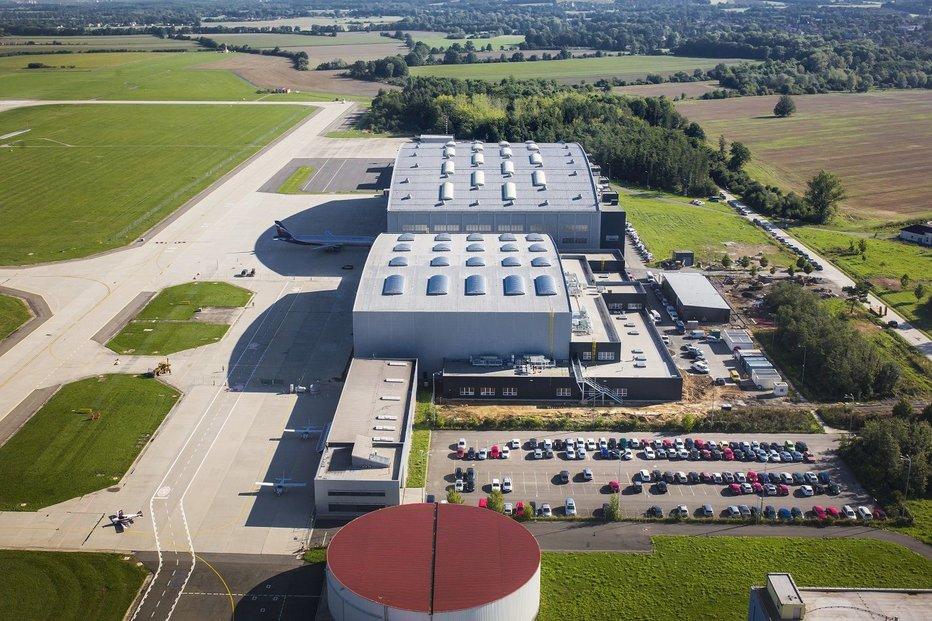 Nový hangár JOB AIR Technic úspěšně prošel kolaudací