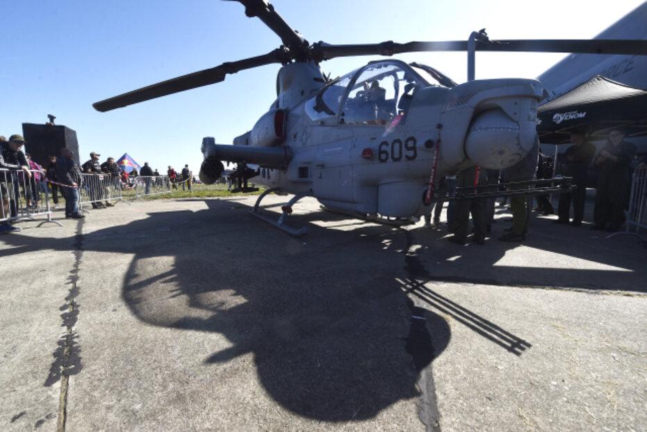 Bojový vrtulník AH-1Z VIPER, ilustrační foto