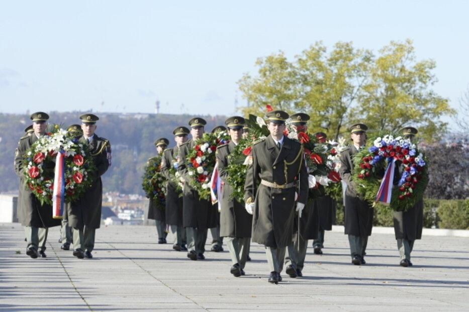 Pietní akt při příležitosti 101. výročí vzniku Československa se konal 28. října 2019 v Praze na Vítkově.