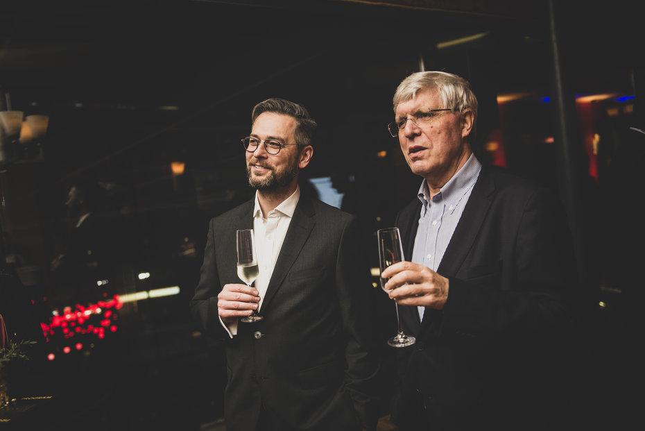 Vpravo Jan Tauber z Genesis Capital