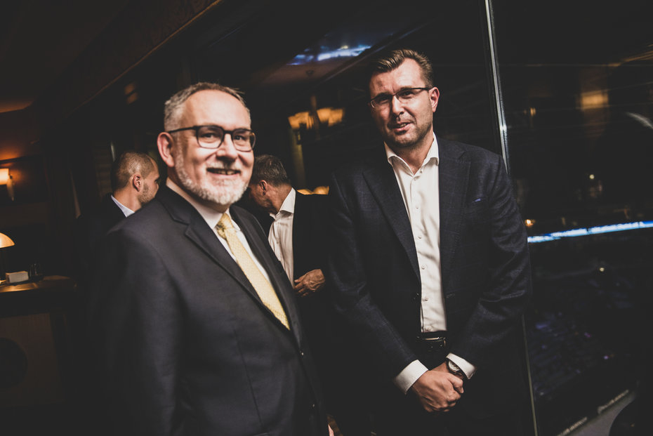 Zakladatel Encor Lubor Žalman a Jaroslav Havel, zakladatel AK Havel & Partners