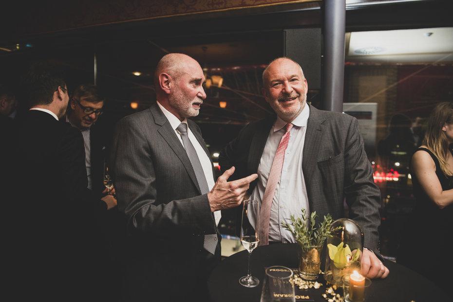 Jan Prádler z T-Watt a Josef Kotrba z Deloitte
