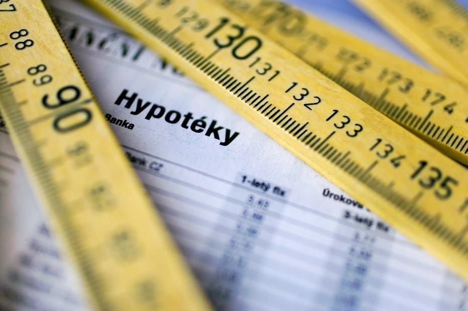 hypotéky, ilustrační foto