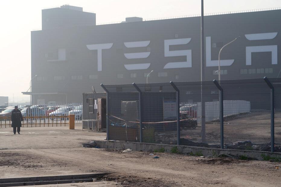 Čínská továrna Tesly
