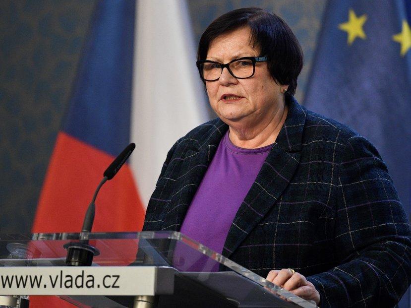 Ministryně spravedlnosti Marie Benešová (za ANO