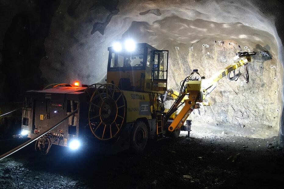 Česká stavební společnost Subterra staví tunel ve Stockholmu.