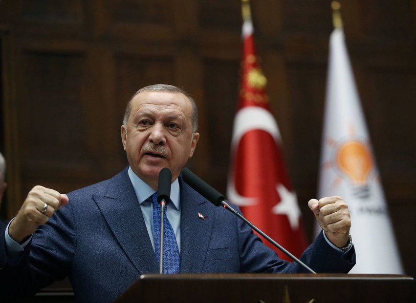 Turecký prezident Recep Erdogan