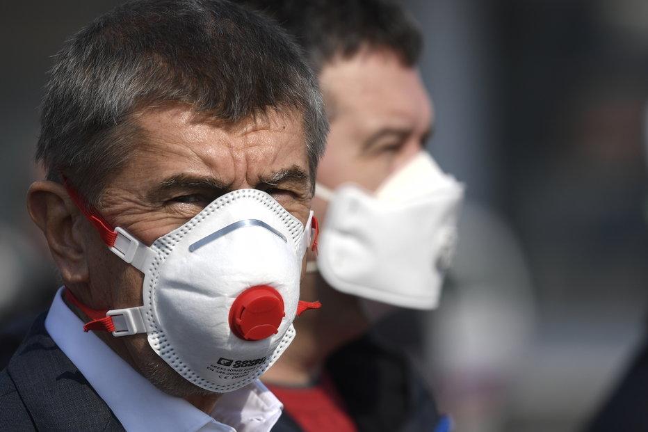 Premiér Andrej Babiš (ANO) (20.3.2020)