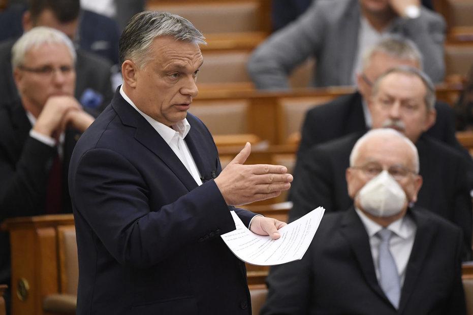 Maďarský premiér Viktor Orbán přiznal, že v amerických prezidentských volbách fandil Trumpovi.