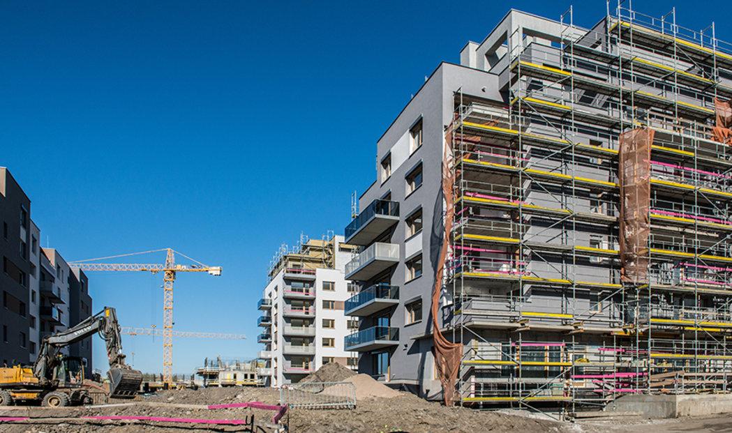 Developerské projekty i nová individuální výstavba zatěžují infrastrukturu obcí na hranici únosnosti.(ilustrační foto)