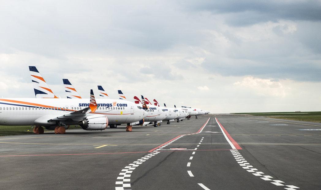 V lednu činil meziroční pokles cestujících 92 procent, bylo jich jen 87 tisíc.