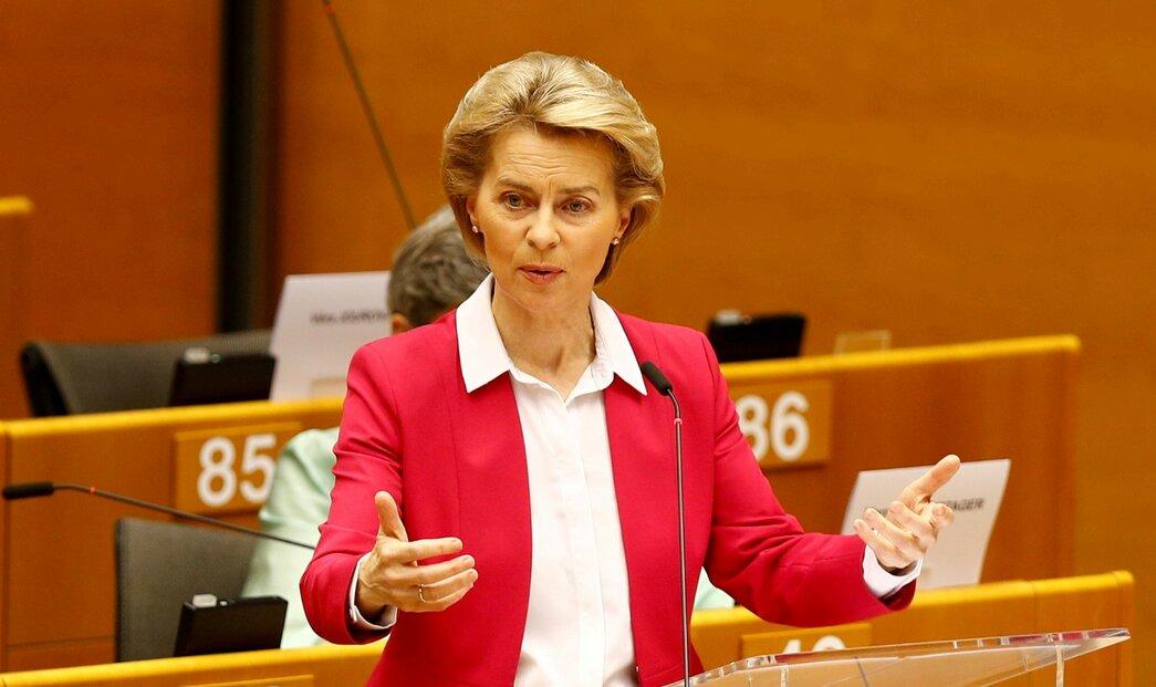 Předsedkyně Evropské komise Ursula von der Leyenová označila nový zákon za porušení mezinárodního práva.