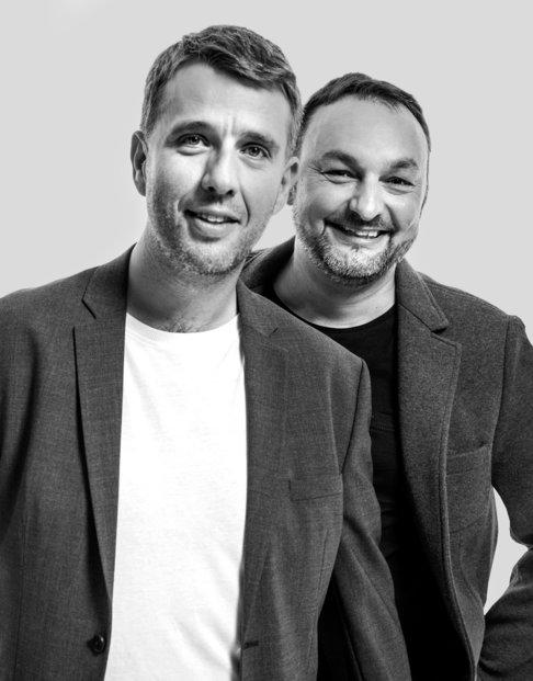 Tomáš Čermák a Jiří Horyna, dva ze zakladatelů společnosti eMan