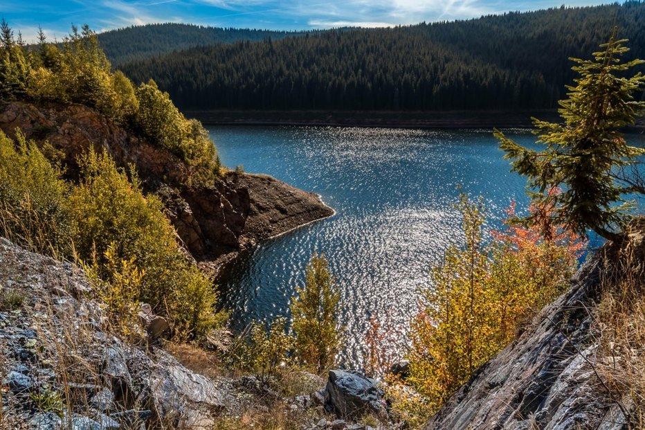 Jezero Oasa v Rumunsku