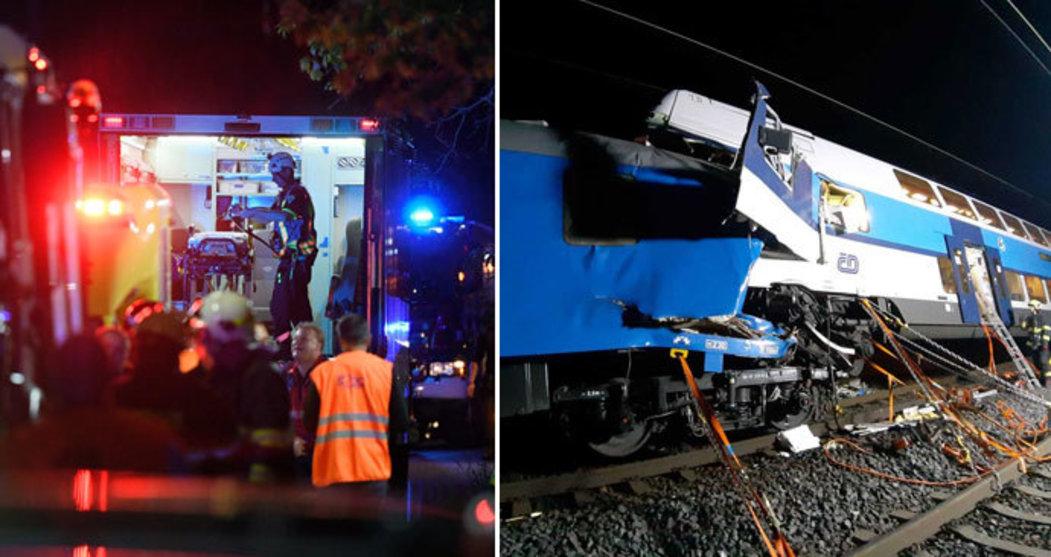 Bylo rozděleno 400 tisíc mezi zaměstnance drah, kteří byli zraněni při nedávných nehodách vlaků, a rodinu zahynuvšího vlakvedoucího.