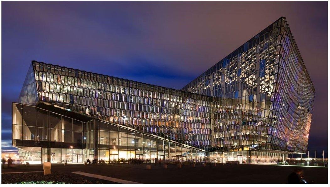 Konsorcium zvítězilo ve veřejné soutěži. (na snímku koncertní síň Harpa v islandském Reykjavíku)