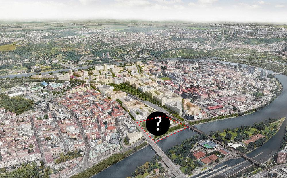 V plánu je rovněž revitalizace celé čtvrti.