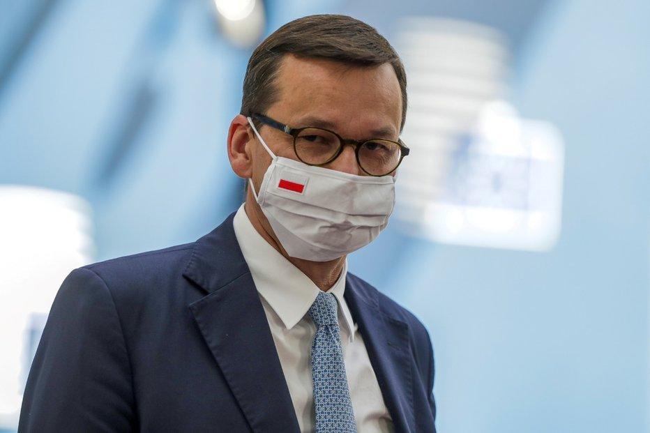 Premiér Mateusz Morawiecki ma ve svém odporu podporu polského parlamentu