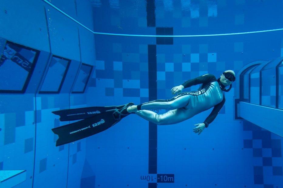 Deepspot - nejhlubší bazén světa.