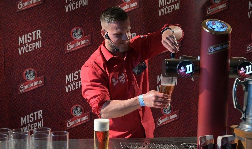 Adam Mezera, Mistr výčepní piva Gambrinus