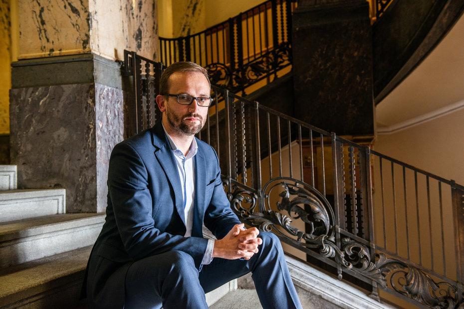 Náměstek primátora pro finance Pavel Vyhnánek (Praha sobě).