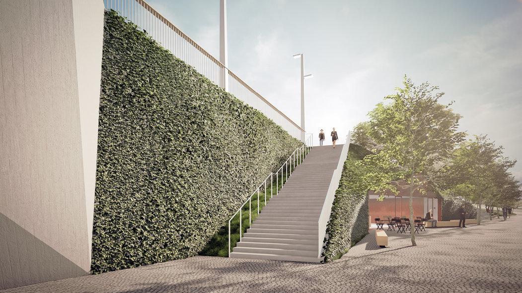 Propojení betonu s přírodou
