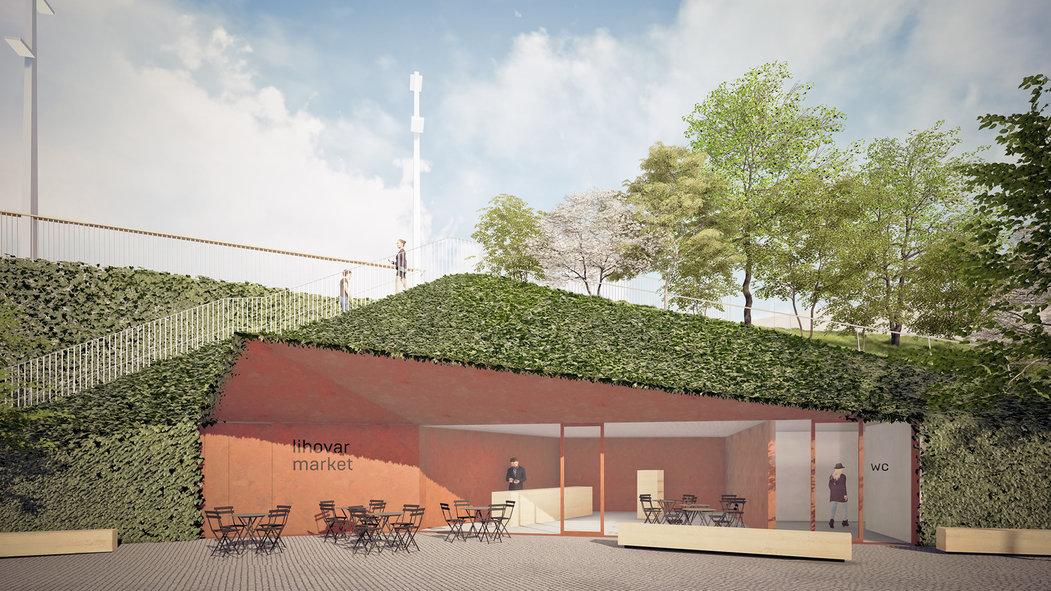 Pod zem bude zapuštěno informační centrum a toalety