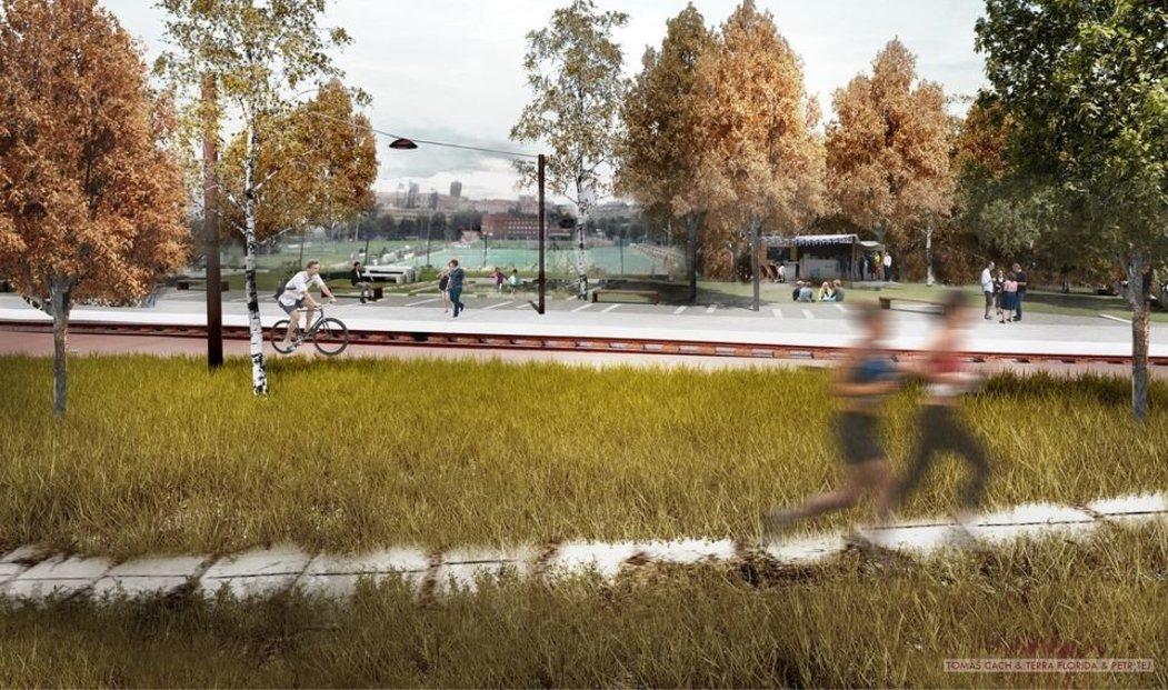 Vzniknou odpočívadla i prostory pro rekreační sport
