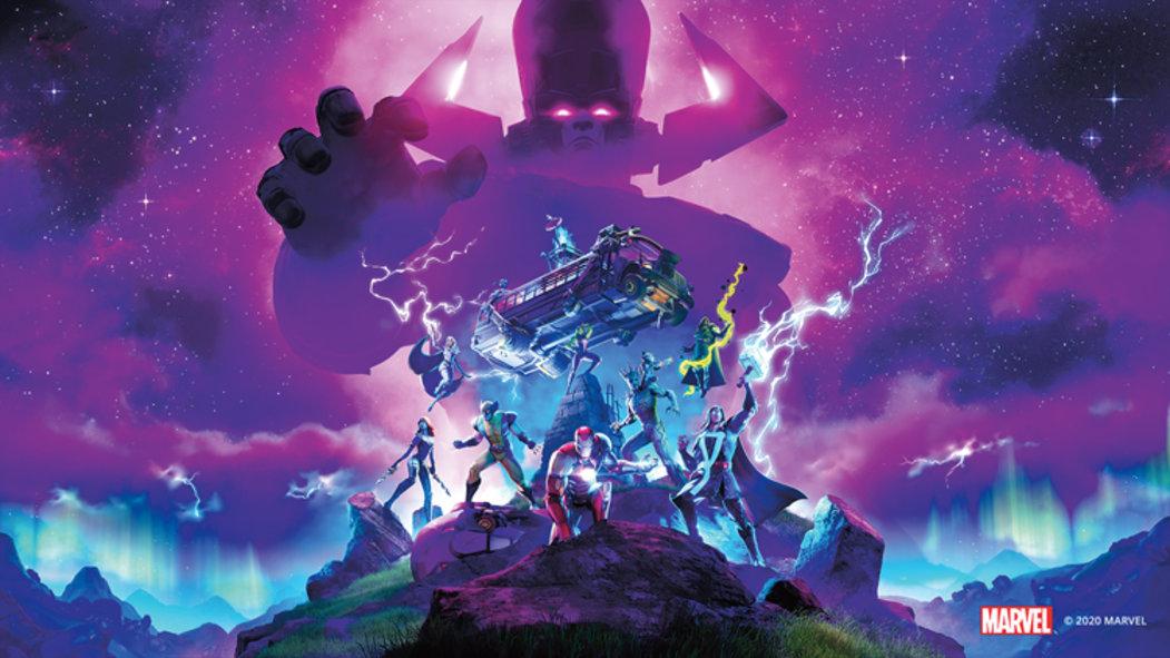 Fortnite a Marvel: Fialový obr Galactus není úplně zápornou postavou. Problém je, že se živí planetami
