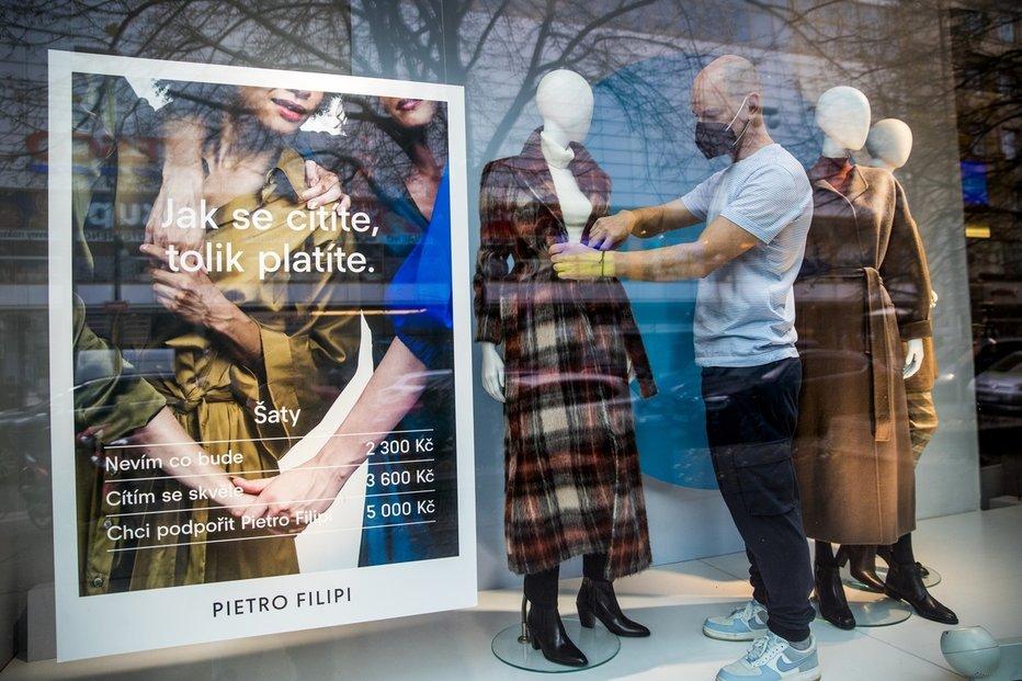 Prodejce oděvů Pietro Filipi míří do insolvence.