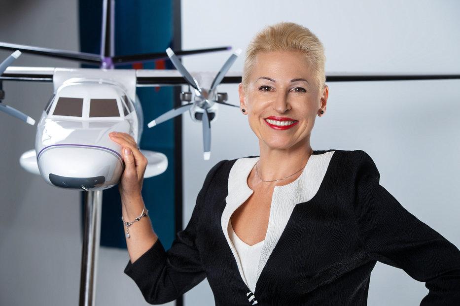 Ilona Plšková vede Aircraft Indrustries.