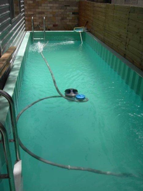 Můžete mít i bazén.