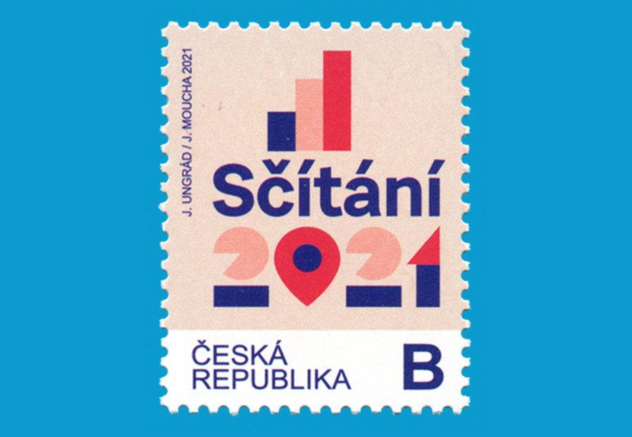 Sčítání lidu 2021 - Nová poštovní známka