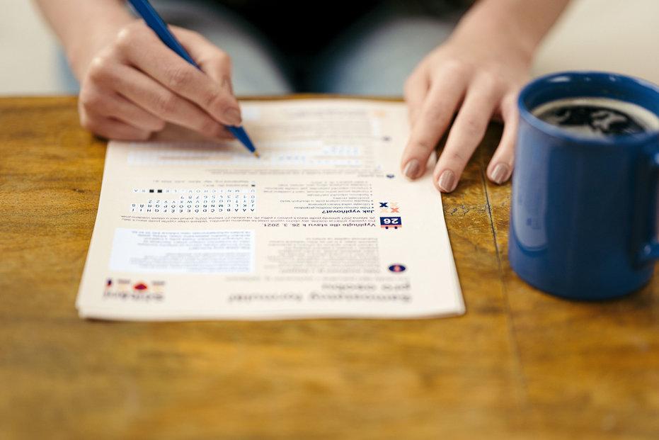 Listinné sčítání - kdo nestihne nebo nemůže online, vyplní dotazník ručně