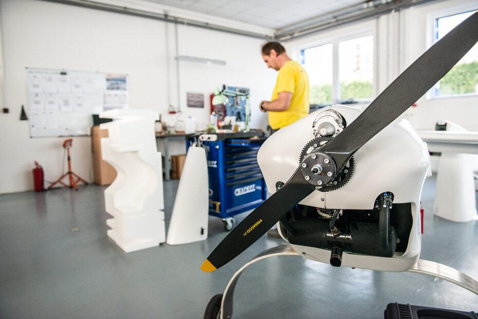Výroba dronů Primoco