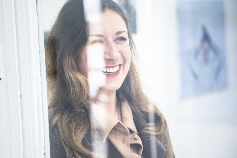 Barbora Půlpánová pracovala v aukční síni Christie`s v Londýně (Foceno v Trafo Gallery)