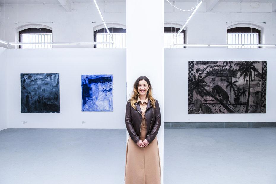 Barbora Půlpánová je zakladatelkou projektu Eduart Experience. (Foceno v Trafo Gallery)