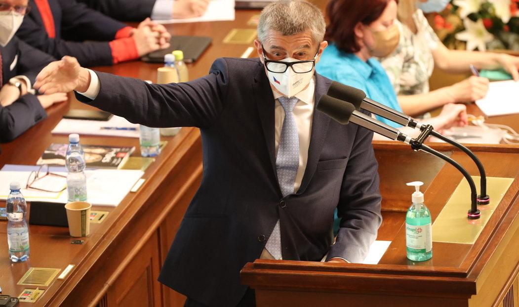 Jednání o nedůvěře vládě: Andrej Babiš (3.6.2021)