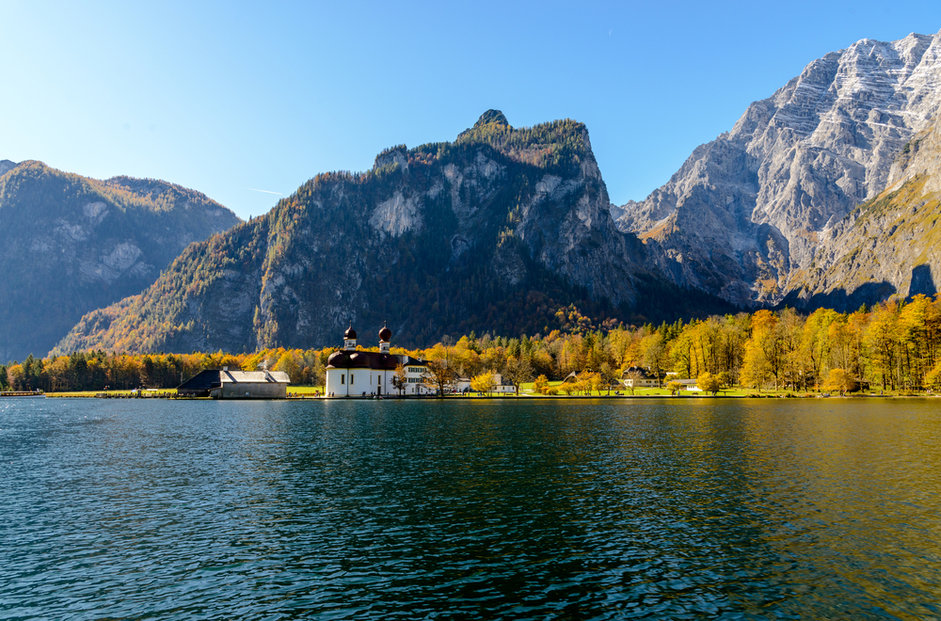 Německé jezero Königssee