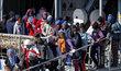 Uprchlická krize nekončí: Migranti, kteří dorazili přes Středozemní moře do Itálie