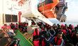 Pro polovinu migrantů na centrální trase do Evropy je Libye tranzitní zemí. Ne všichni cestu přežijí